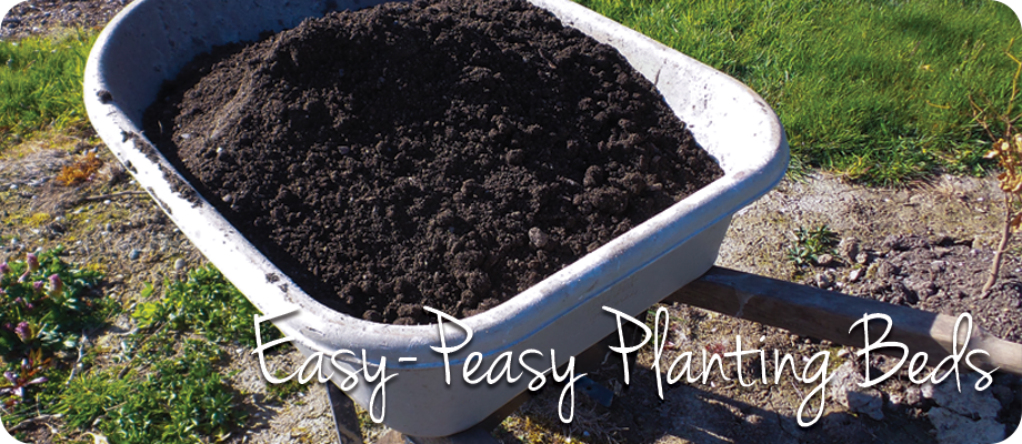 Easy-Peasy Garden Beds