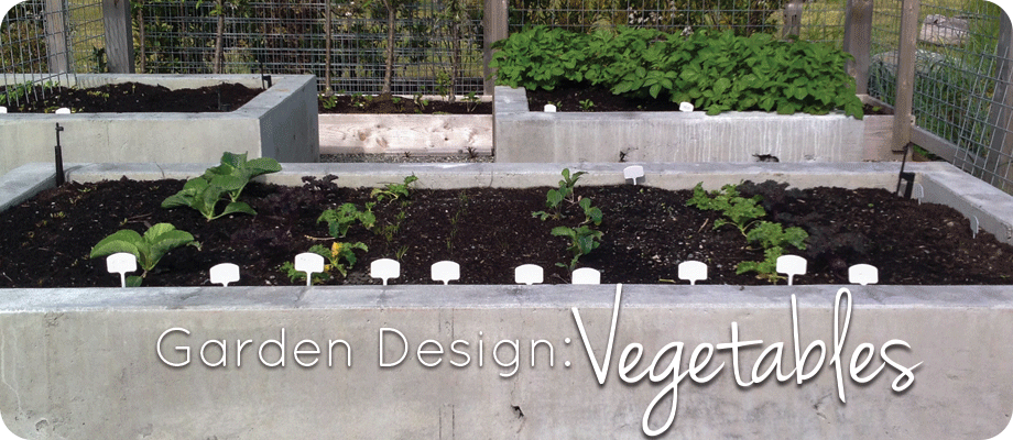 Garden Design: Vegetables